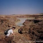 Random image: 2002/08/05 - Simon on trek 1