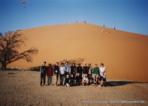 Our group at Dune 45