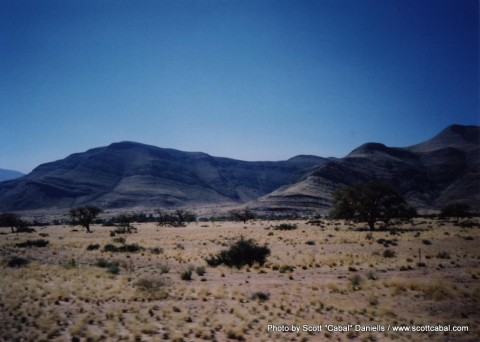 Some great scenery on the way to Namib Naukluft