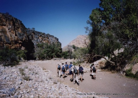 Trekking the Waterkloof Trail