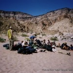 Random image: 2002/08/13 - Our group in Fish River Canyon