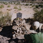 Random image: 2002/08/15 - Grave in Fish River Canyon