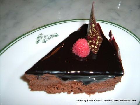 Cake at Raffles