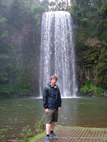 Me at Millaa Millaa Falls