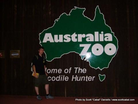 Me at Australia Zoo