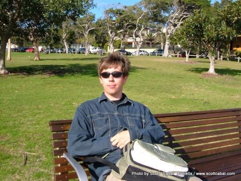 Me at Watson's Bay