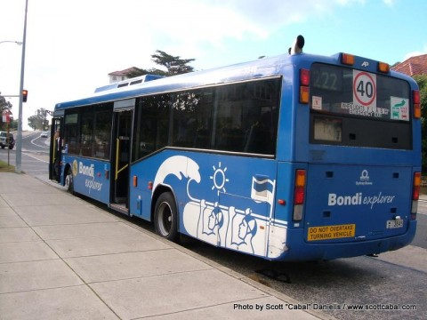 Bondi Explorer Bus