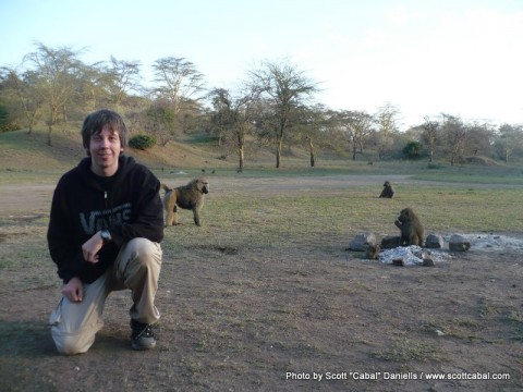 Me and Baboons