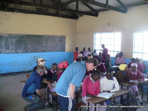 New Classroom at Ngumo