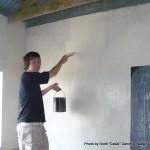 Random image: 2009/08/24 - Me Painting