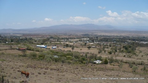 A view towards Gilgil