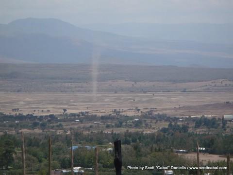 A tornado outside Gilgil