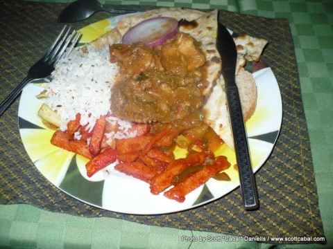 Indian Food at Eldoret