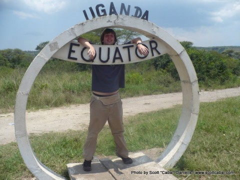 Me at the Equator - part 1