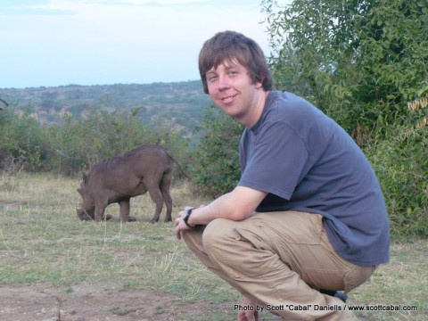 Me and a Warthog