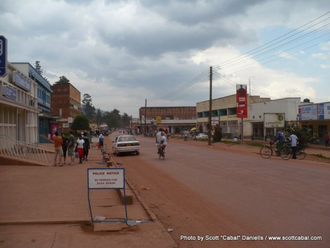Kabale Town Centre