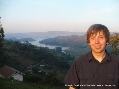 Me at Lake Bunyonyi