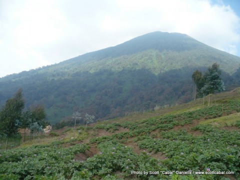The Bisoke Volcano
