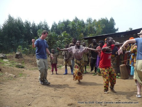 Trip dancing with the Pygmies