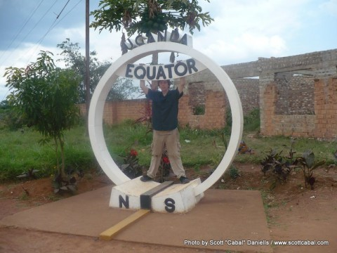 Me at the Equator