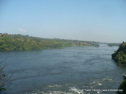 The River Nile as seen from the bar at Adrift