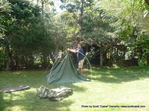 Camping at Eldoret