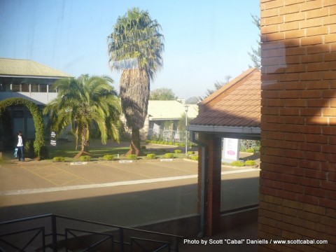Eldoret Hospital had nice grounds