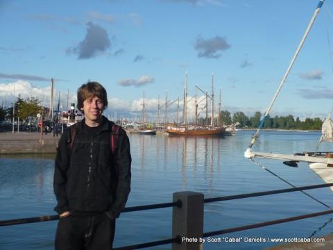 Me at Helsinki Harbour