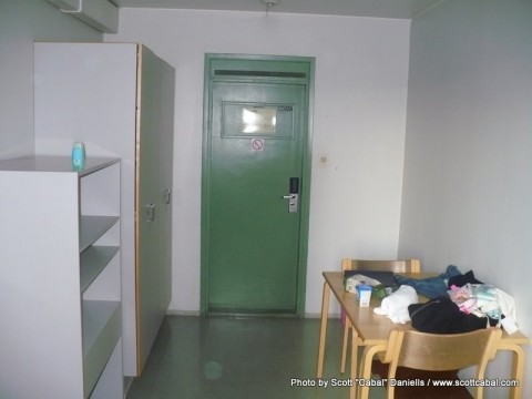 A photo of our room at the hostel