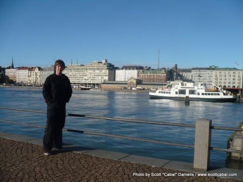 Me in Helsinki