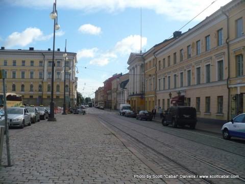 Helsinki's old streets