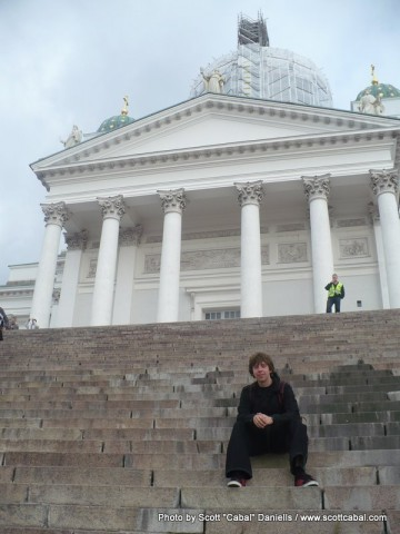 Me at Helsinki Cathedral