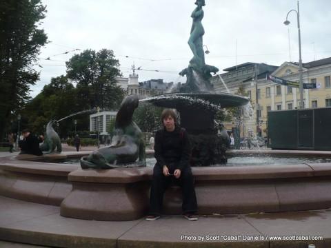 Relaxing in Helsinki