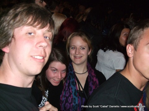 Me, George and Anna in Hartwall Areena