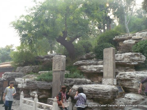 The location where The Emperor hanged himself