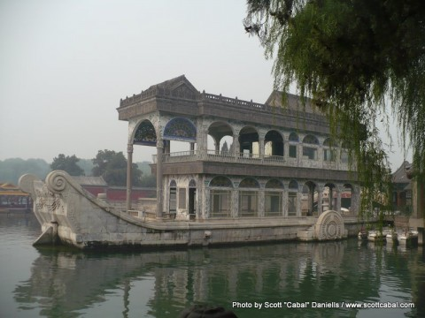 The Stone Boat at The Summer Palace