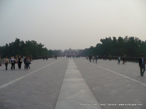 Temple of Heaven - The Emperor's Walkway