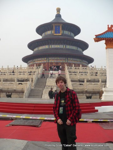 Me at the Temple of Heaven