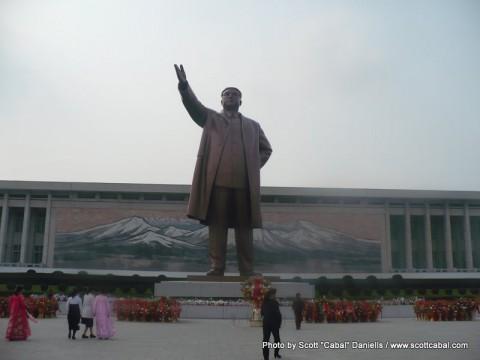 The Kim il-Sung Statue