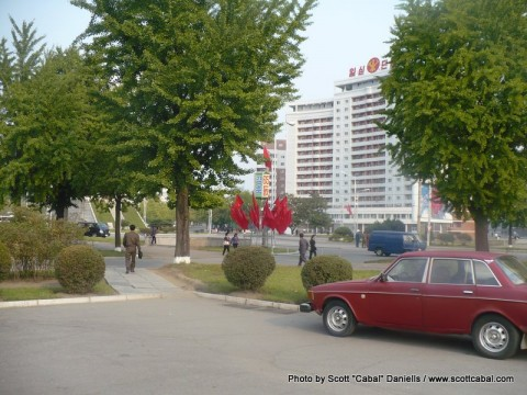 The Streets of Pyongyang