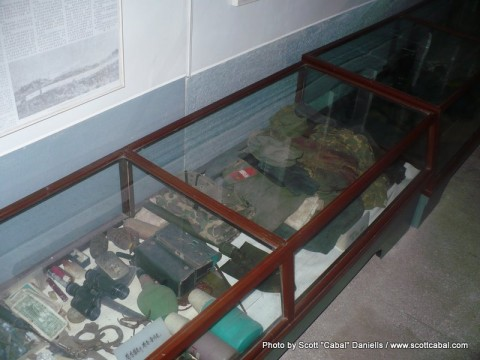 Artifacts in the armistice hall