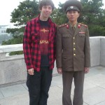 Random image: 2010/10/11 - Me and a DPRK Army Officer
