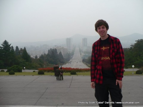 Me in Kaesong