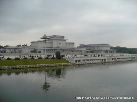 Kumsusan Memorial Palace - resting place of Kim il-Sung