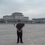 Random image: 2010/10/12 - Me at Kumsusan Memorial Palace