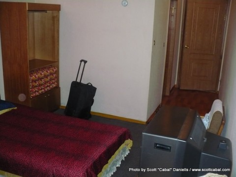 My room at Mt Myohyang