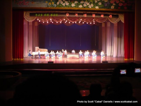 Schoolchildren's Palace performance