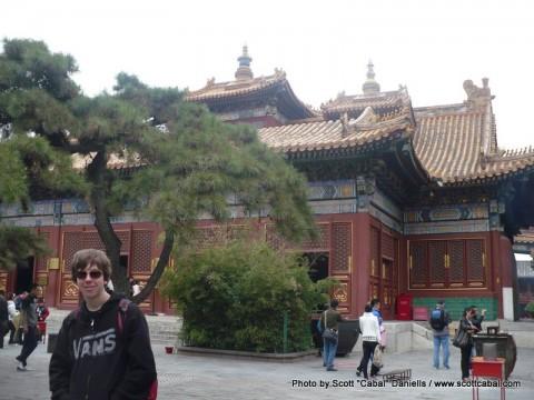 Me inside the Lama Temple
