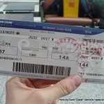 Random image: 2010/10/09 - Air Koryo boarding pass