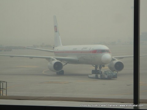 This is the newer Air Koryo plane